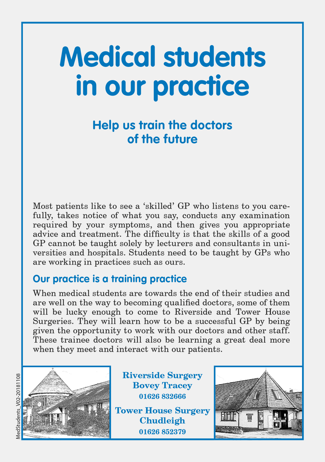 Medical Students Leaflet